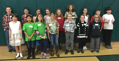Annual Spelling Bee 4-6 Division