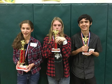 Annual Spelling Bee 7-9 Division Finalist